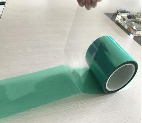 green tape with liner